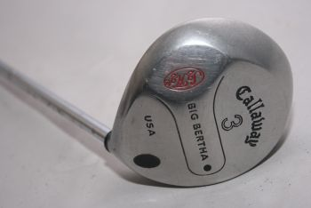 Callaway Original Big Bertha (Regular, Stahl) 15° Holz 3