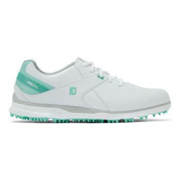 Footjoy Pro SL (Damen, Weiß/Türkis) Golfschuh