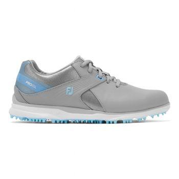 Footjoy Pro SL (Damen, Grau/Hellblau) Golfschuh