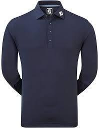 Footjoy Thermolite sleeved (Herren, Blau) Polo