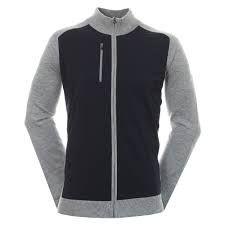 Footjoy WBLND Tech Full Zip(Herren/Grau-Blau)Windstopper Jacket