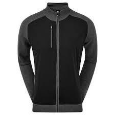 Footjoy WBLND Tec Full Zip(Herren/Grau-Anthr.)Windstopper Jacket