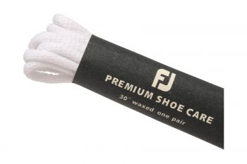 FootJoy Waxed Laces Weiss