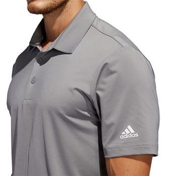 adidas Ultimate 2.0 Solid (Herren, Grau) Poloshirt