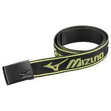 MIZUNO webbed belt (Herren, schwarz) Wendegürtel