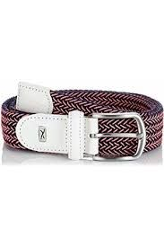 Brax Style Belt (Damen, rot-schwarz), Flechtgürtel