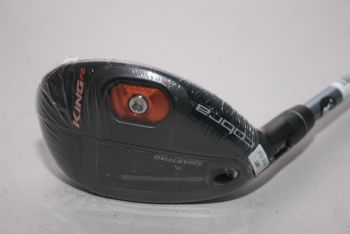 Cobra King F6 (Regular, Linkshand, NEU) 19°-22° Hybrid 3-4