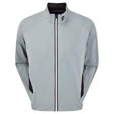 FootJoy Hydroknit Jacket (Herren, grau) Regenjacke