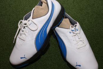Puma AMP Sport (Herren, Weiß/Blau) Golfschuh