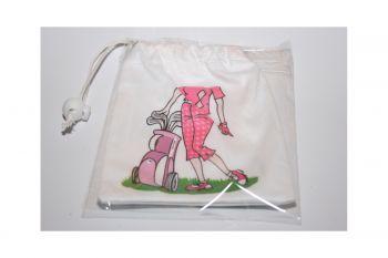 Girls Golf Tee Bag (Golfer)