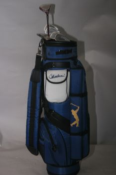 Silverline Tour Classic (Ladies, Stahl, Eisen 5, 7, 9, SW, FW3, Putter & Cartbag, NEU) Komplettset