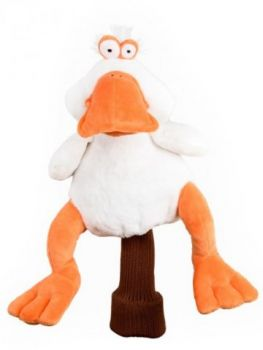 Daphne Headcover White Duck