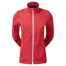FootJoy Hydroknit Jacket (Damen, rot) Regenjacke