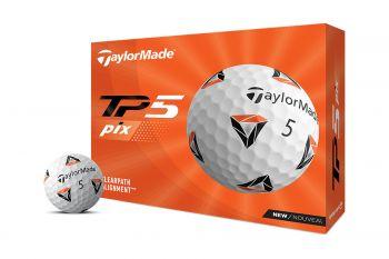 TaylorMade TP5 pix 2021 Golfbälle