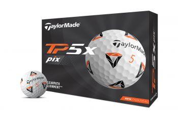 TaylorMade TP5x pix 2021 Golfbälle