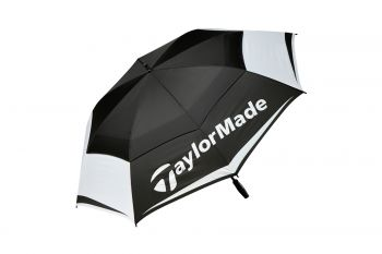 TaylorMade Double Canopy (Black/White, 64'') Regenschirm