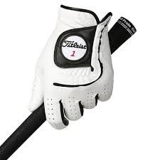 Titleist Players Flex (Herren, weiß) rechte Hand Lederhandschuh