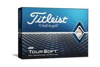 Titleist Tour Soft Golfbälle-Weiß-12-Pack