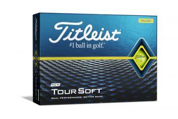 Titleist Tour Soft (12er Pack, Gelb) Ballaktion