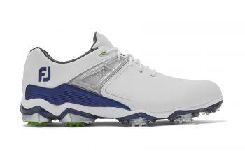 FootJoy Tour X (Herren, Weiß/Navy) Golfschuh