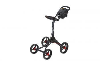Bag Boy Trolley Quad XL- Schwarz/Rot