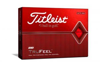 Titleist TruFeel Golfbälle-Rot-12-Pack