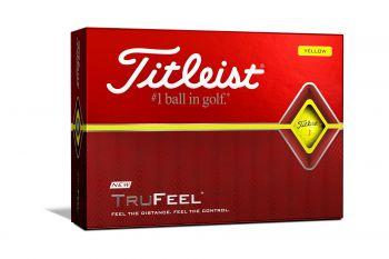 Titleist TruFeel (12er Pack, Gelb) Ballaktion