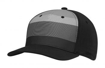 Adidas Tour Stripe (Schwarz/Grau) Golfkappe