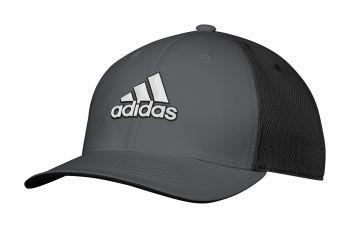 Adidas Tour Stretch (Schwarz/Grau) Golfkappe
