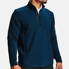 Under Armour Storm 1/2 Zip (Herren, Blau)Midlayer waterrepellent
