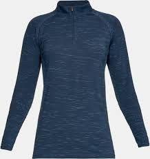Under Armour Longsleeve 1/4 Zip (Damen, Blau) Shirt