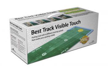 Best Track Golf Puttmatte Large inklusive 2er-Set Unterlegkeile