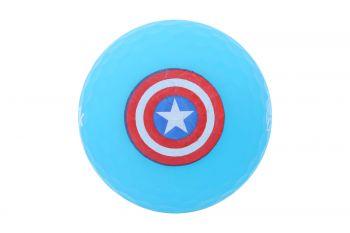 Volvik Motivball Vivid Marvel - Captain America
