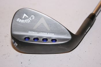 Callaway Mack Daddy Forged (R-Grind, Stiff, Stahl, Linkshand, 10° Bounce) 52° Gap Wedge
