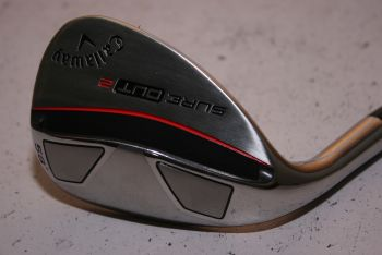 Callaway Sure Out 2 (Stiff, Stahl, Linkshand) 58° Lob Wedge