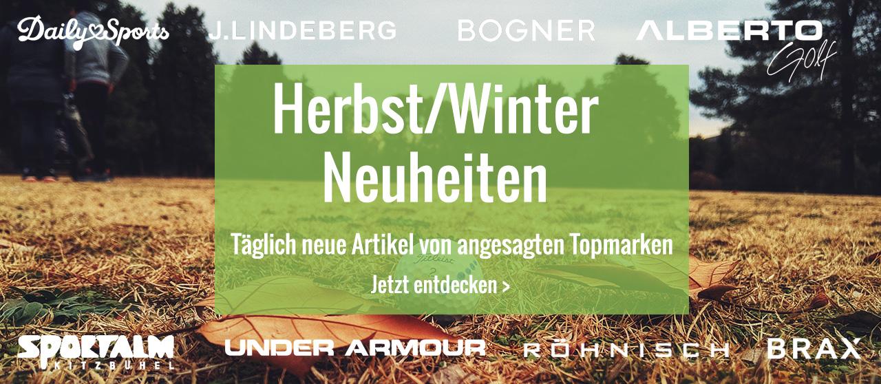 Herbst Winter Neuheiten 2021/22