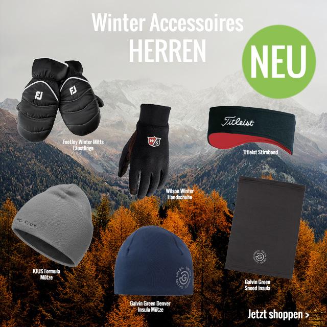 Winter Accessoires Herren
