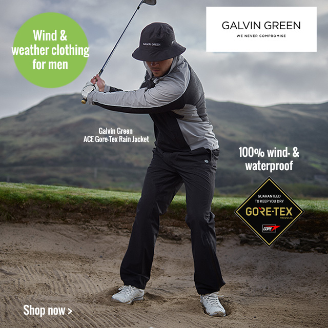 Men's Galvin Green Wind and Weather Clothing